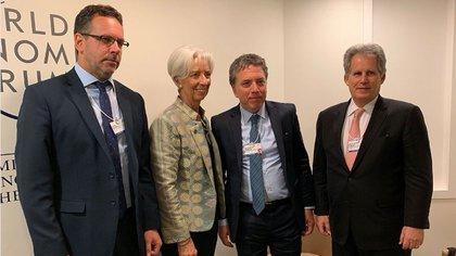 Sandleris, Lagarde y Dujovne