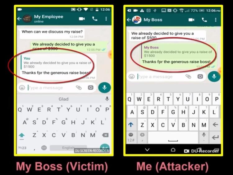 Agente Smith se aloja en WhatsApp y por lo general muestra anuncios publicitarios, sin embargo deja la puerta abierta para que se pueda acceder a datos bancarios y datos personales Foto: Check Point