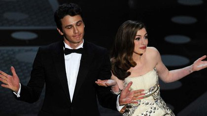 James Franco y Anne Hathaway fueron los anfitriones de los Oscar en 2011