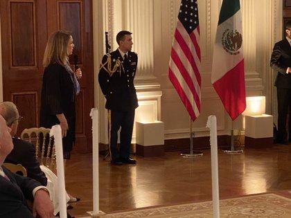 Los empresarios estadounidenses invertirán en México en el marco del T-MEC (Foto: Twitter @PatyArmendariz)