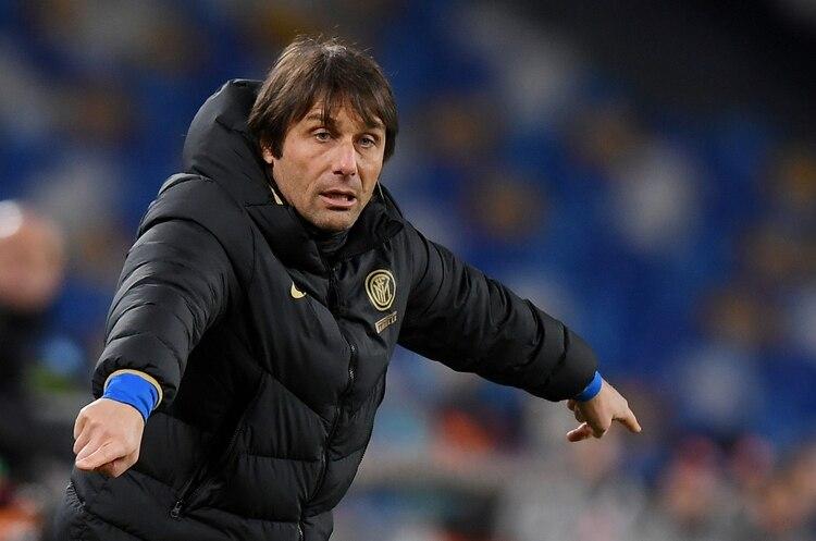 Antonio Conte, entrenador del Inter (Reuters)