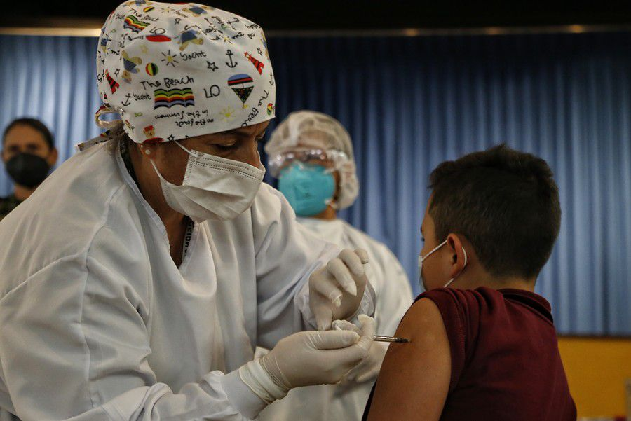 Imagen de referencia. Vacunación para mayores de 12 años en Colombia. Foto: Colprensa