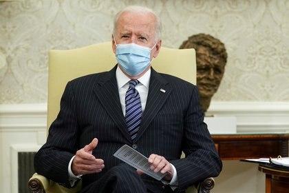 El presidente de los Estados Unidos Joe Biden. REUTERS/Kevin Lamarque