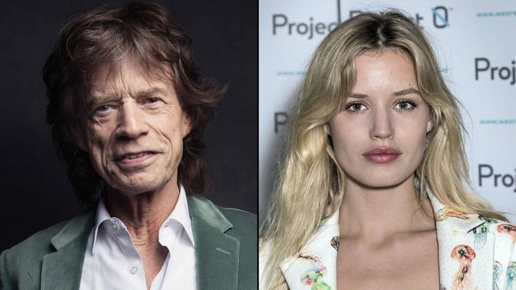 Mick Jagger y Georgia May Jagger