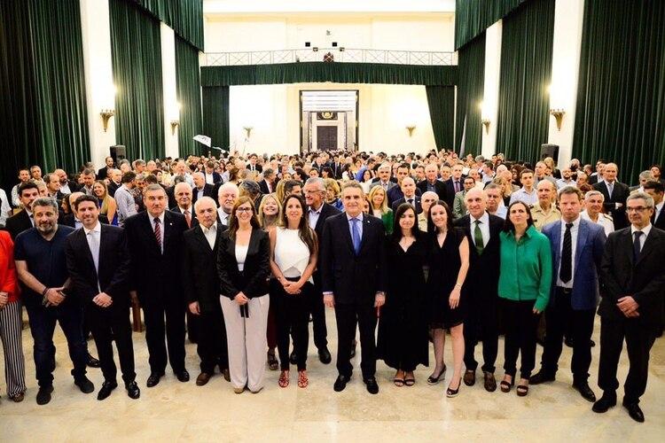 Agustín Rossi presentó a su nuevo equipo de trabajo en el Ministerio de Defensa