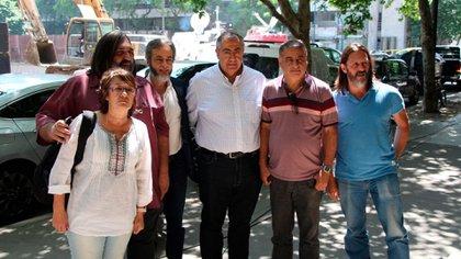 Alguno de los integrantes del Consejo de lucha contra el Hambre que se reunieron el viernes pasado con Alberto Fernández (Thomas Khazki)