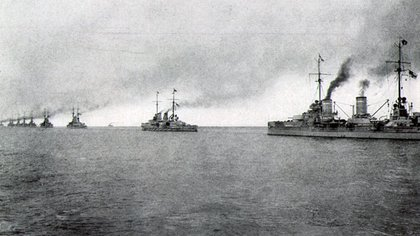 La flota de mar alemana, eje de tensiones antes de la guerra, uno de los desencadenantes del fin