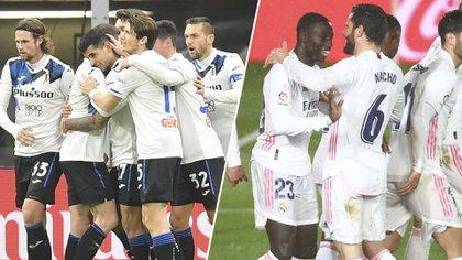 Atalanta abre su serie de octavos de final como local ante Real Madrid