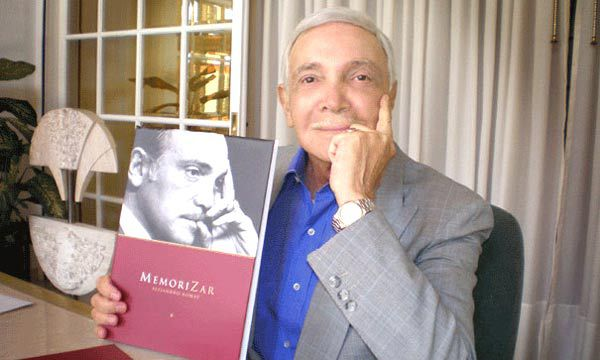 """Editó el libro de recuerdos """"MemoriZar"""", donde relató con gracia muchos pormenores de su carrera y el medio del espectáculo"""