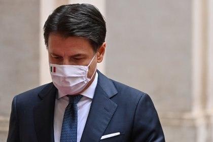El ex primer ministro Giuseppe Conte (Alberto Pizzoli via REUTERS)
