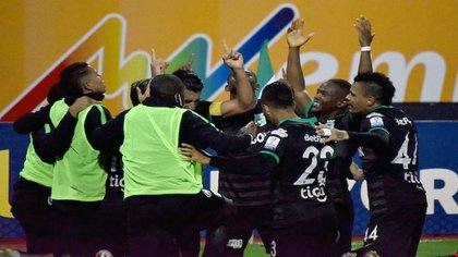 Atlético Nacional se medirá con Guaraní en la Copa Libertadores. Photo: VizzorImage / John Jairo Bonilla / Cont