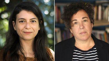 Samanta Schweblin y Gabriela Cabezón Cámara