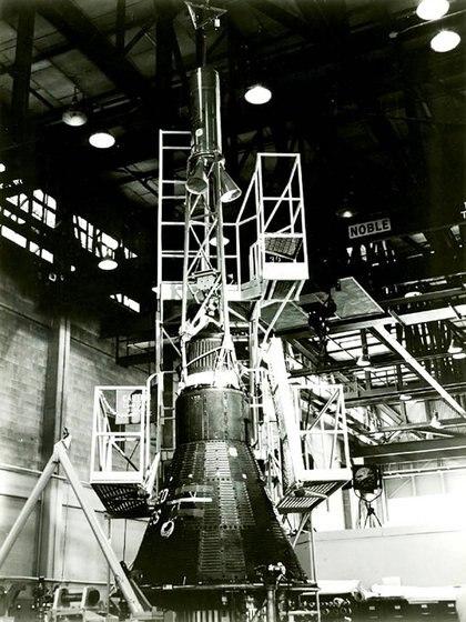 El Mercury fue la respuesta de Estados Unidos al impactante lanzamiento del Sputnik (NASA)