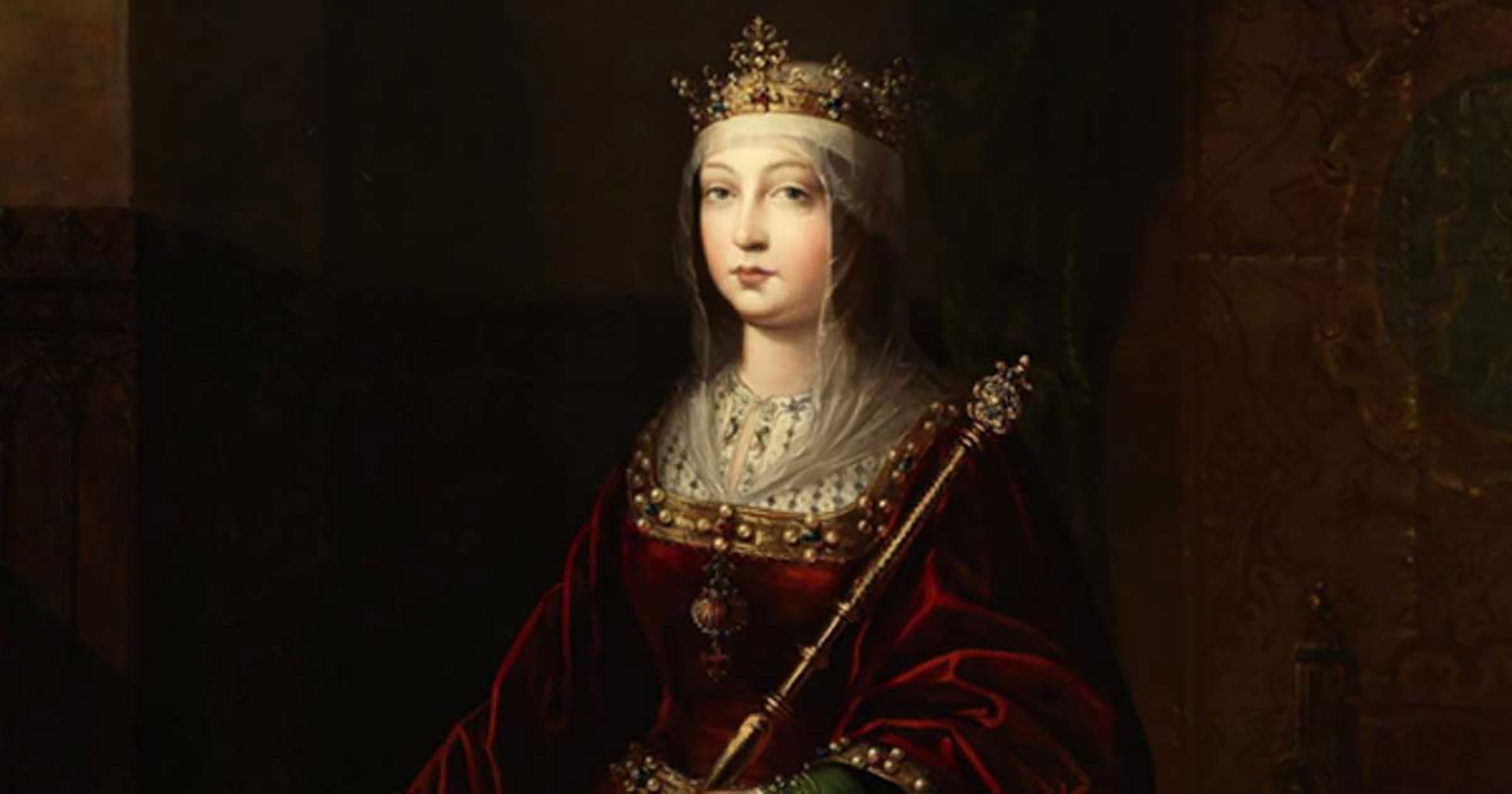 Isabel I de Castilla, que pasó a la historia como Isabel la Católica, abuela de Carlos I de España