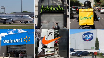 Seis de las empresas que se fueron o quieren irse