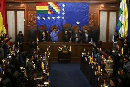 El Senado de Bolivia (REUTERS/Luisa Gonzalez)
