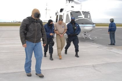 Vicente Zambada Niebla, alias el Vicentillo, fue extraditado a los Estados Unidos de AmŽrica por sus presuntos v'nculos con el narcotr‡fico. Lo anterior sucedi— el 18 de febrero del 2010. FOTO: PGR/CUARTOSCURO