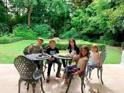 Así es la nueva casa de Mauro y Wanda en París