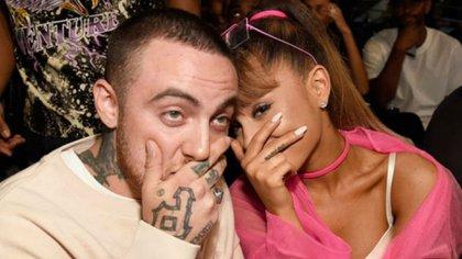 Mac Miller fue novio de Ariana Grande durante un año y medio