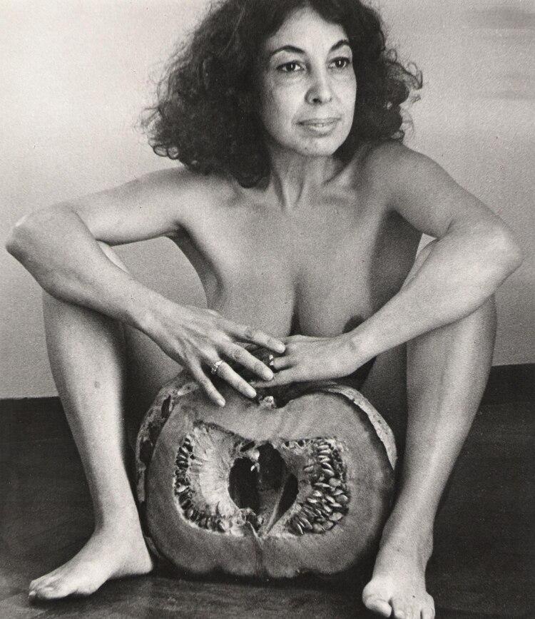 """De la serie """"El zapallo"""", 1982, fotografía blanco y negro"""