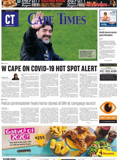 Cape Times, Sudáfrica