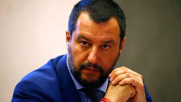 Matteo Salvino, ministro del Interior Italiano, miembro del ultraderechista Liga