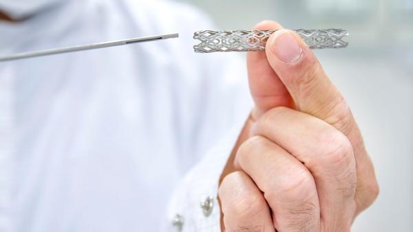 Existen tres tipos de stents, con diferentes funciones (iStock)