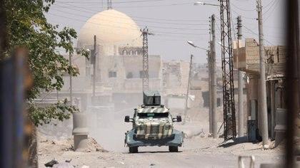 El Estado Islámico está cercado en la ciudad de Raqqa (Reuters)