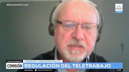 """Para Luis Galeazzi, de Argencon, """"esta ley genera contradicciones que van a entorpecer el teletrabajo"""""""