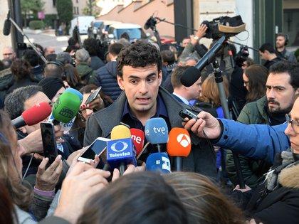 Miguel Hurtado se mostró irritado ante la falta de propuestas concretas (AFP)