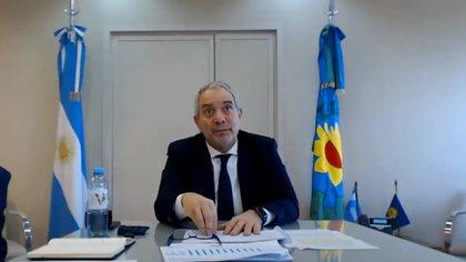 Juan Alak, ministro de Justicia bonaerense.