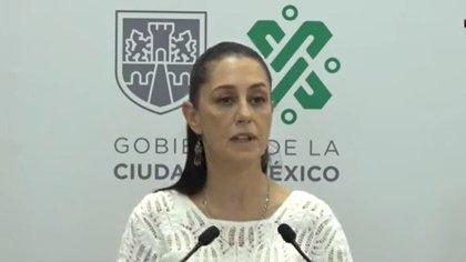 Claudia Sheinbaum dio detalles sobre los colores del semáforo epidemiológico. (Foto: Captura de pantalla)