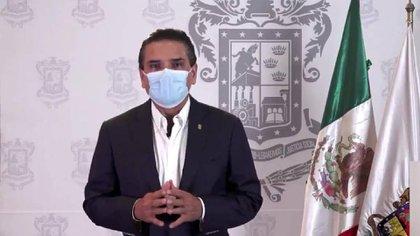 Silvano Aureoles, gobernador de Michoacán. (Foto: Captura de pantalla)