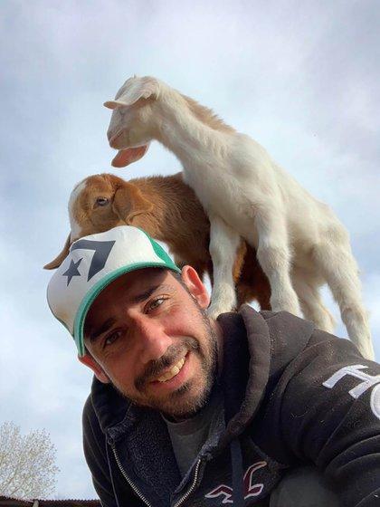"""""""¿No es mucho mejor disfrutar los animales de esta manera?"""", pregunta Sebastián Bustamante. (@sebas.vegano)"""