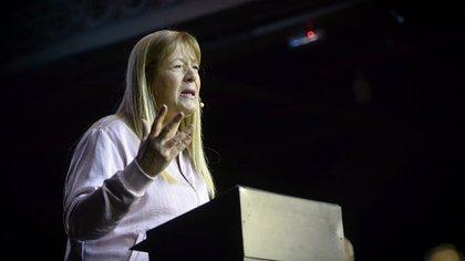 La líder del GEN, Margarita Stolbizer, ensaya un acercamiento a Juntos por el Cambio (Gustavo Gavotti)