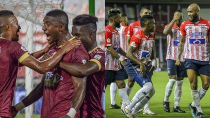 Deportes Tolima ahora será local en Perú y Junior de Barranquilla jugará en Ecuador por los torneos Conmebol