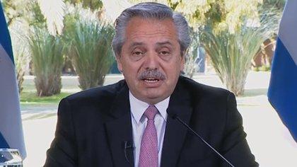 El presidente Alberto Fernández dijo ayer al FT que no les puede ofrecer más a los bonistas