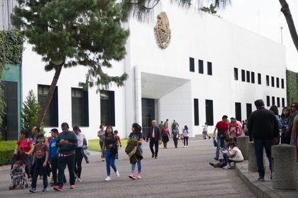 La ex residencia presidencial de Los Pinos. (Foto: Cuartoscuro)