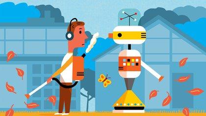 Cómo funcionan y qué ventajas tienen los robots que cortan el césped