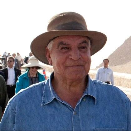 """El egiptólogo de renombre mundial y exministro de Antigüedades Zahi Hawass, quien encabeza las excavaciones, destacó que encontrar la tumba de Nefertiti sería """"el mayor descubrimiento del siglo XXI"""" Foto: (The Official White House)"""