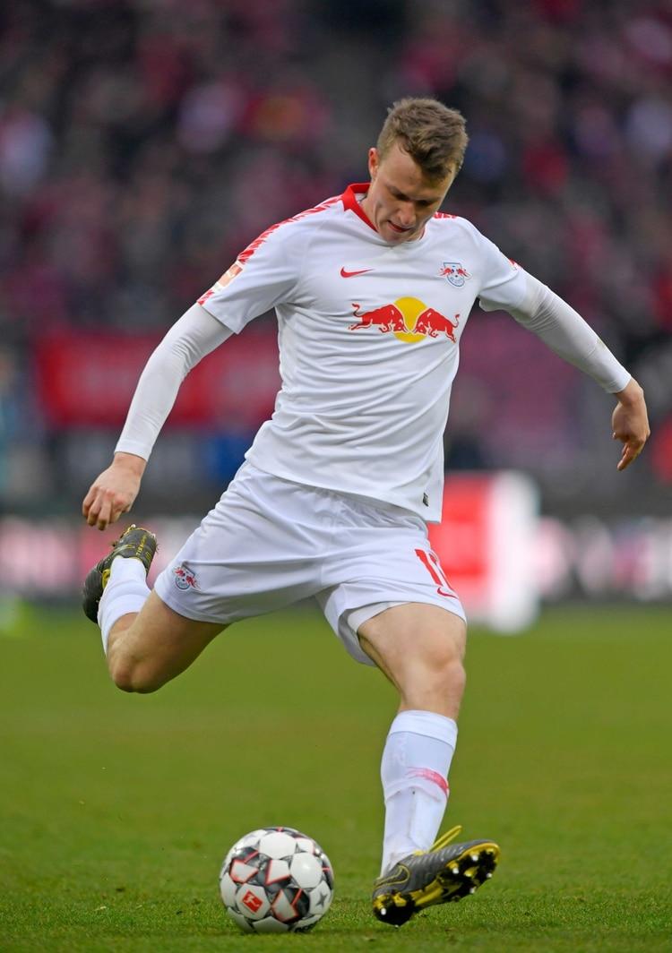 RB Leipzig se desempeña en el RB Leipzig (Shutterstock)