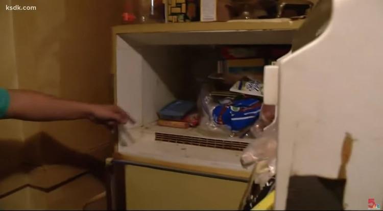 Desde que Adam Smith era pequeño cuestionó a su madre por el contenido de una caja envuelta en plástico dentro del frigorífico de su hogar. (Foto: captura de pantalla de KSDK)