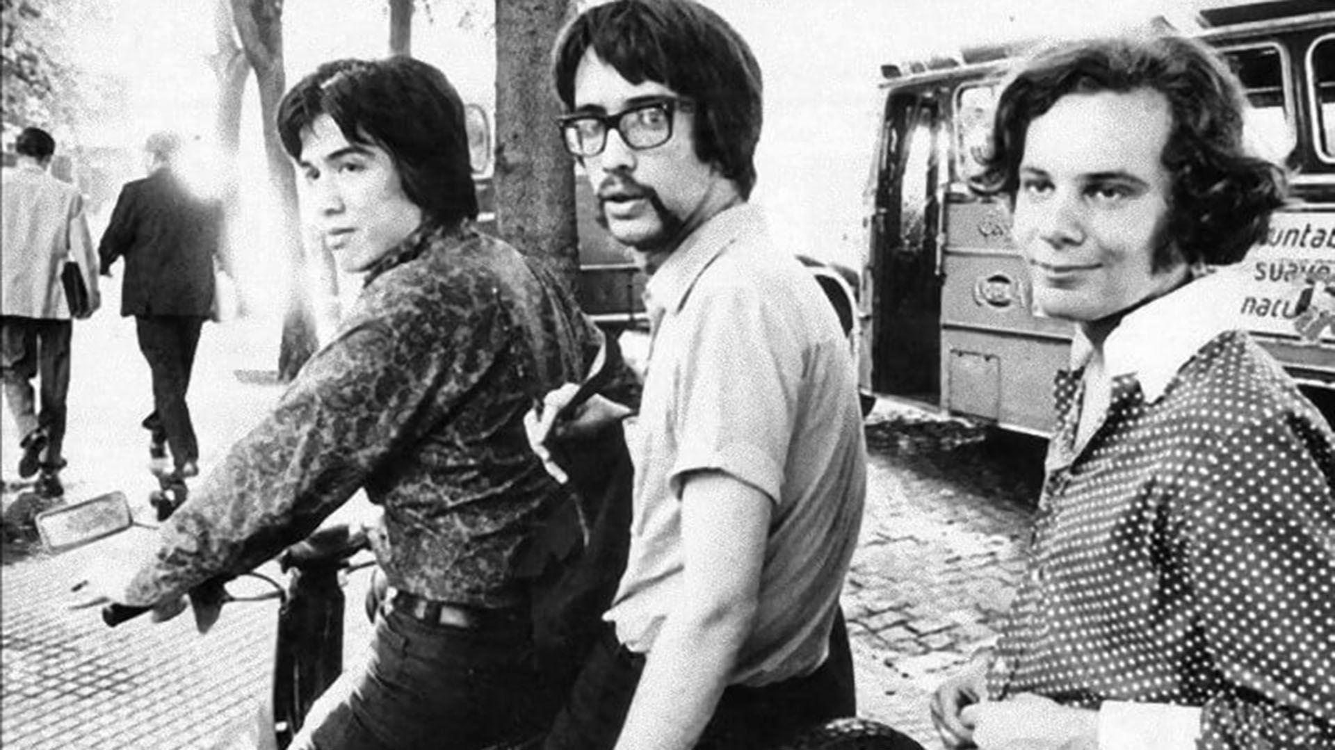 Alejandro Medina, Javier Martínez y Claudio Gabis, Manal.