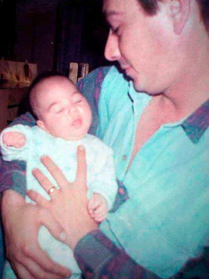 El Polaco presenció el nacimiento de Nicole armado y mientras estaba prófugo