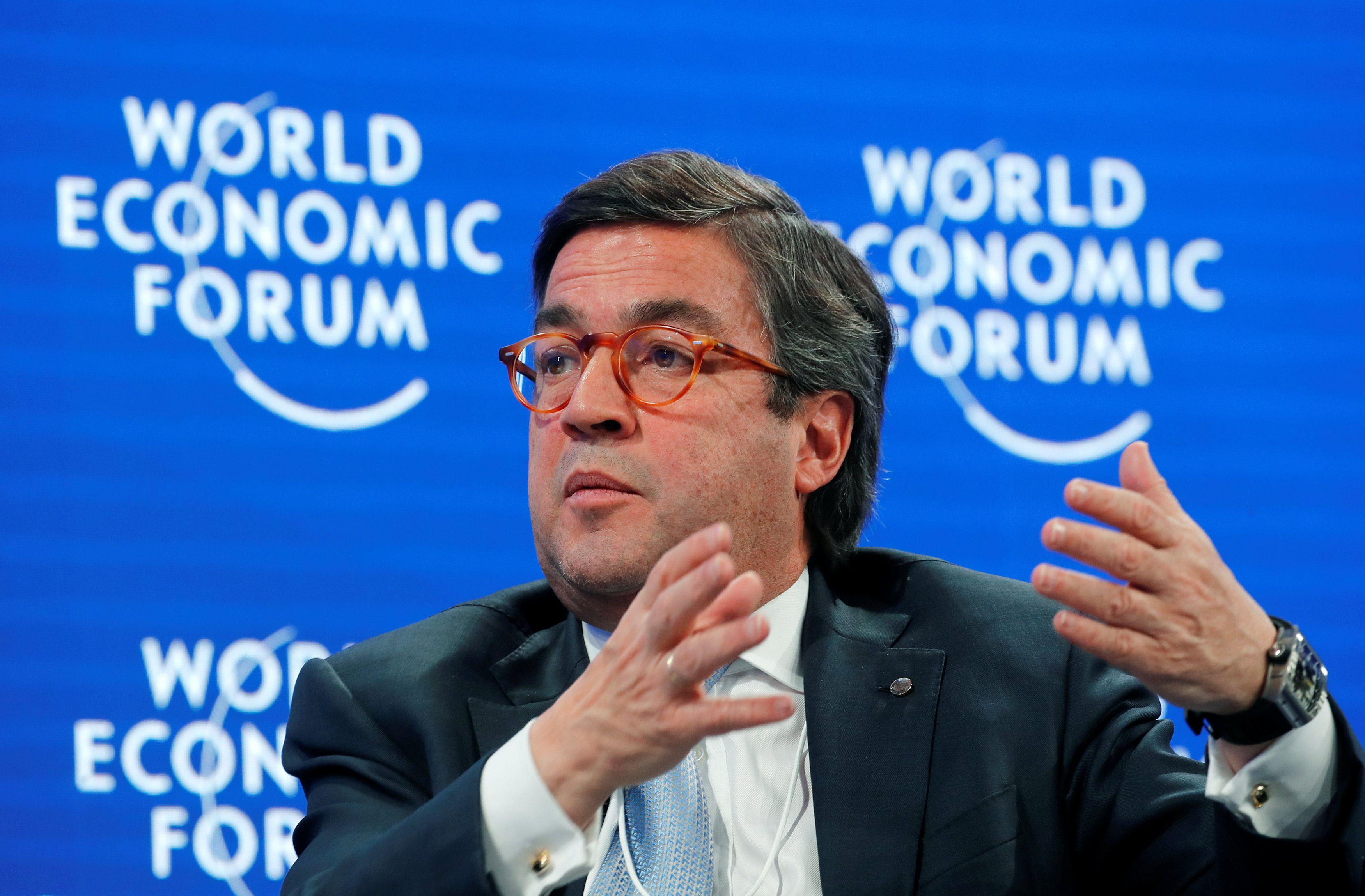 Luis Alberto Moreno, president of Inter-American Development Bank, attends the World Economic Forum (WEF) annual meeting in Davos, Switzerland, January 22, 2019. REUTERS/Arnd Wiegmann