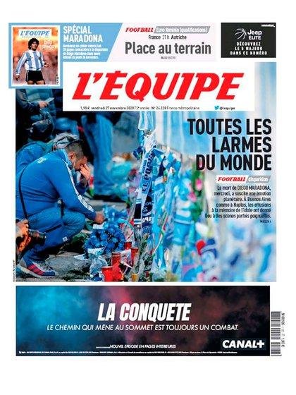 La portada de L'Equipe