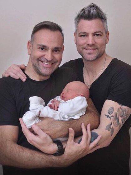 Gabriel, Diego y Gauthier