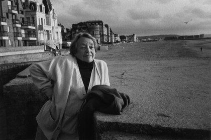 Marguerite Duras (John Foley/P.O.L. EFE)