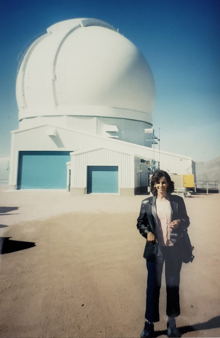 En el Observatorio SOAR, Cerro Pachon, Chile