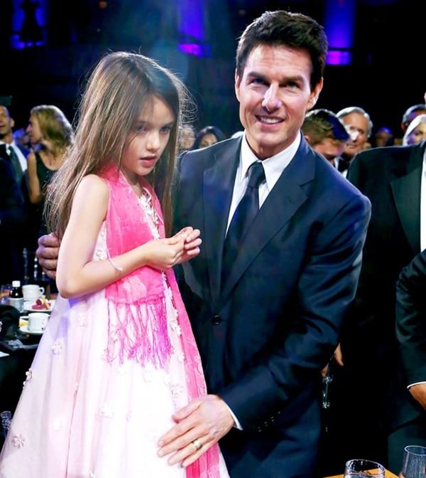 Tom Cruise y Suri Cruise